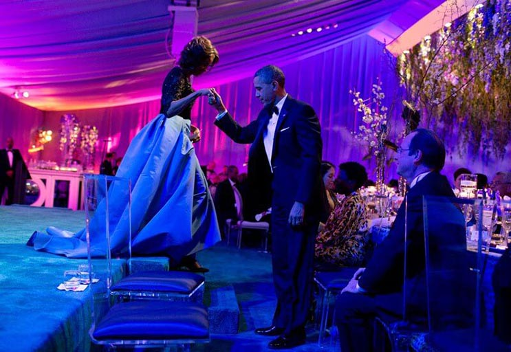 Una mirada más íntima a la vida del presidente Obama por el fotógrafo Pete Souza 25