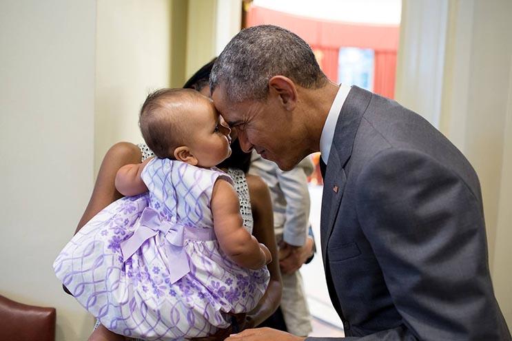 Una mirada más íntima a la vida del presidente Obama por el fotógrafo Pete Souza 31