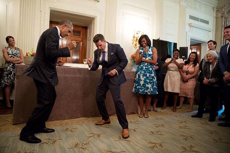 Una mirada más íntima a la vida del presidente Obama por el fotógrafo Pete Souza 33