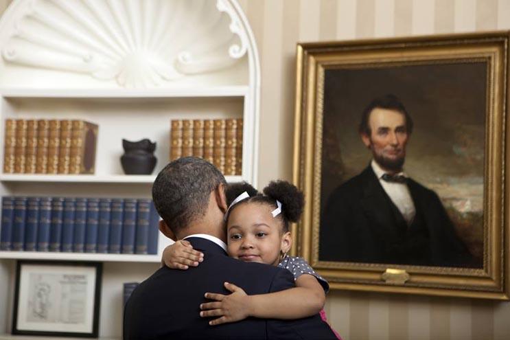 Una mirada más íntima a la vida del presidente Obama por el fotógrafo Pete Souza 37