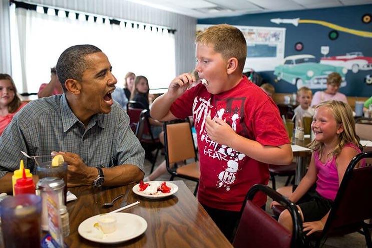 Una mirada más íntima a la vida del presidente Obama por el fotógrafo Pete Souza 8