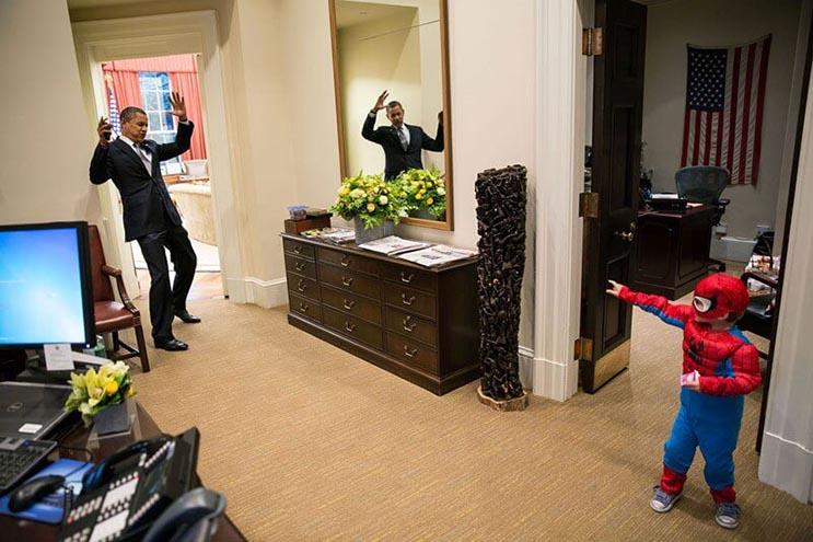 Una mirada más íntima a la vida del presidente Obama por el fotógrafo Pete Souza 9