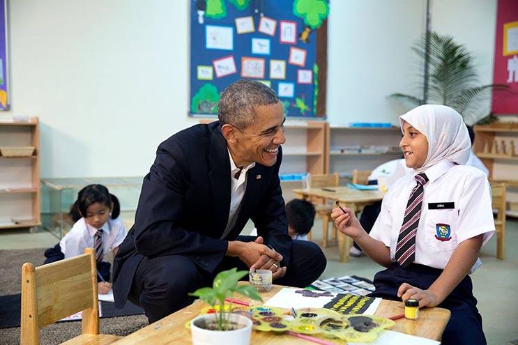 Una mirada más íntima a la vida del presidente Obama por el fotógrafo Pete Souzam