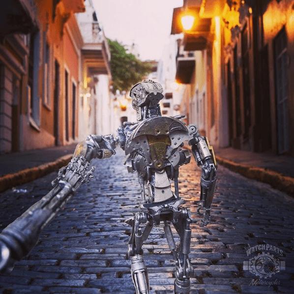 "Una pareja de robots parodia la cuenta ""Follow Me"" de Instagram 07"
