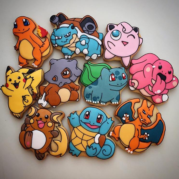 increibles galletas artistas que te haran dudar de comerterlas 15