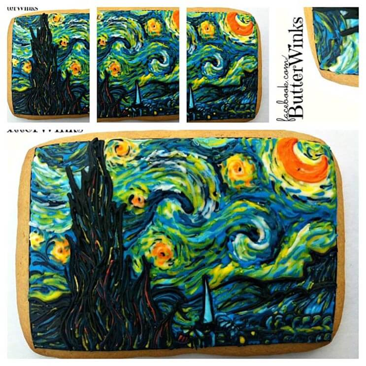 increibles galletas artistas que te haran dudar de comerterlas 21