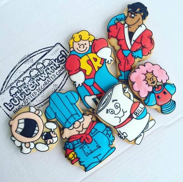increibles galletas artistas que te haran dudar de comerterlas 4