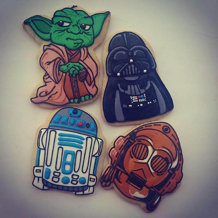 increibles galletas artistas que te haran dudar de comerterlas 7