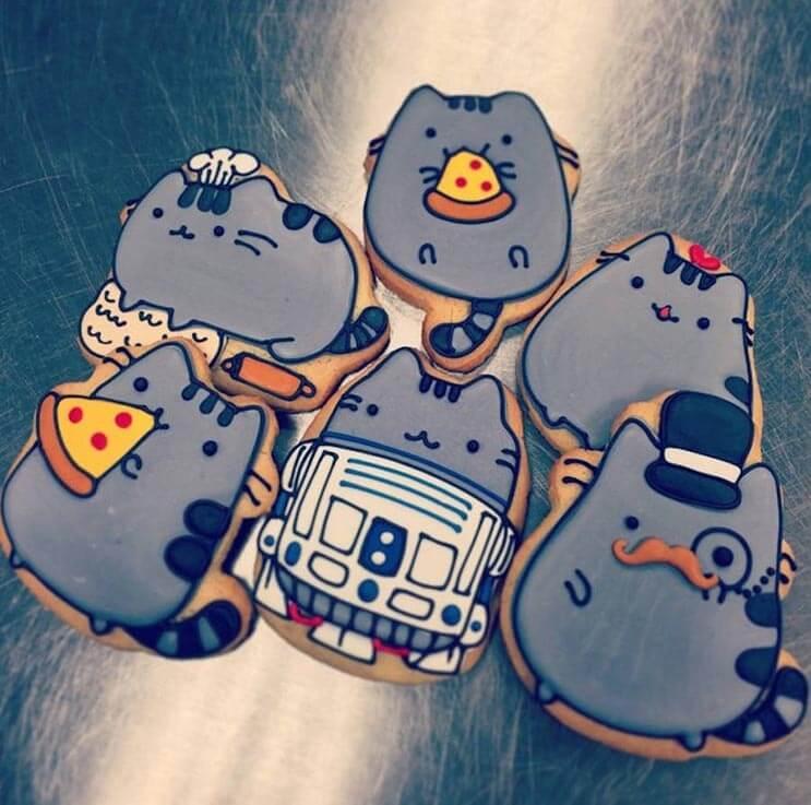 increibles galletas artistas que te haran dudar de comerterlas 8