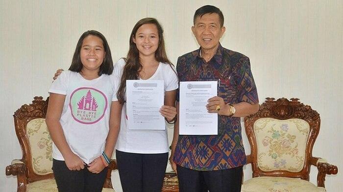 ¡Adiós a las bolsas de plástico! la gran iniciativa de dos adolescentes activistas 3