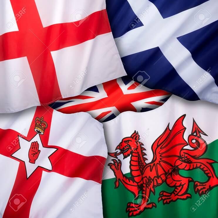 32019527-Las-banderas-del-Reino-Unido-de-Gran-Breta-a-Inglaterra-Escocia-Gales-e-Irlanda-del-Norte--Foto-de-archivo
