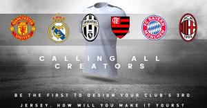 Adidas te da la oportunidad de que hagas la próxima camiseta del Real Madrid y del AC Milan