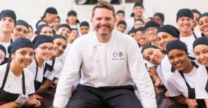Admirable iniciativa de chef para aprovechar comida desperdiciada en los Juegos Olímpicos