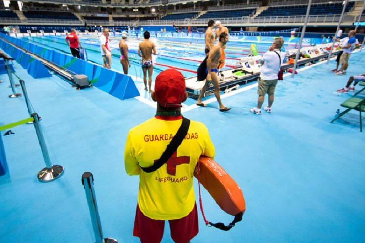 Así es trabajar en Río 2016 como salvavidas de los mejores nadadores del mundo 1