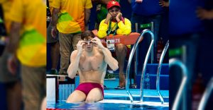 Así es trabajar en Río 2016 como salvavidas de los mejores nadadores del mundo