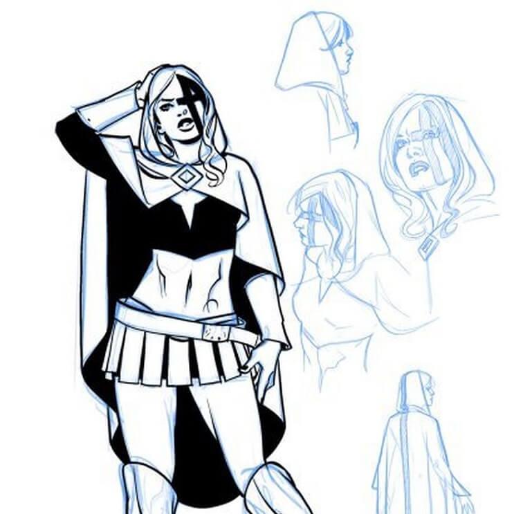 Chalice, la primera heroína transgénero que protagonizará un cómic 1