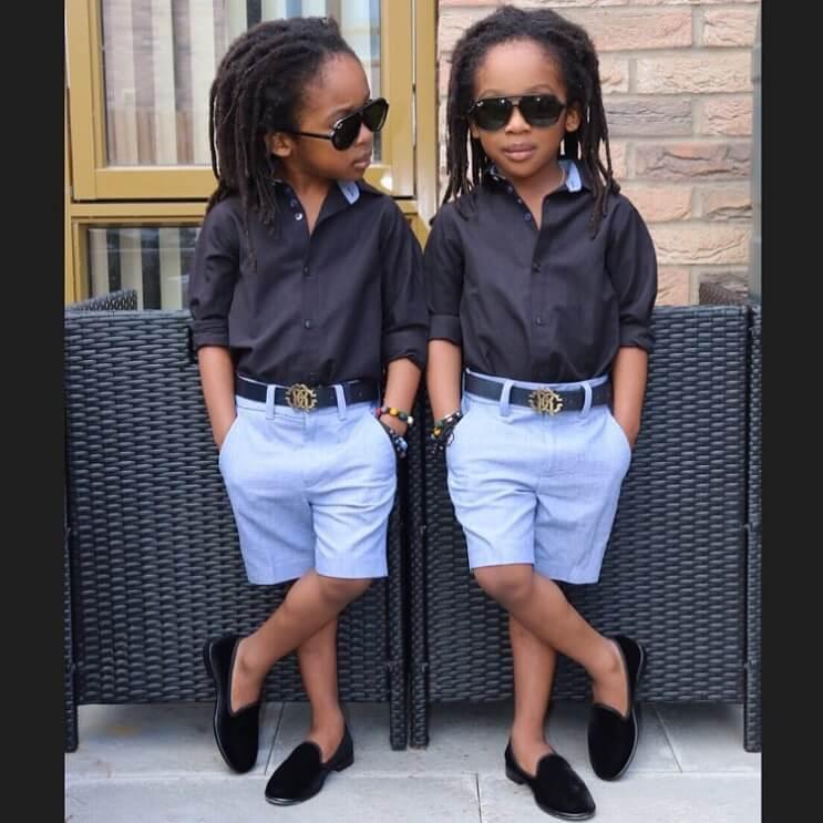 Conoce a los gemelos que causan furor en Instagram 2