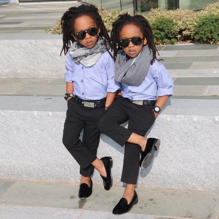 Conoce a los gemelos que causan furor en Instagram 3