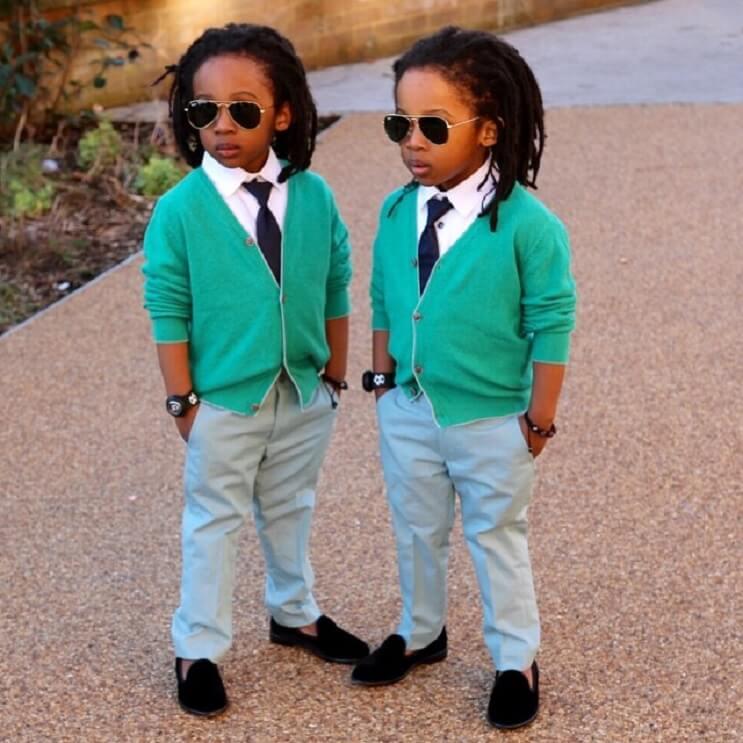 Conoce a los gemelos que causan furor en Instagram 9