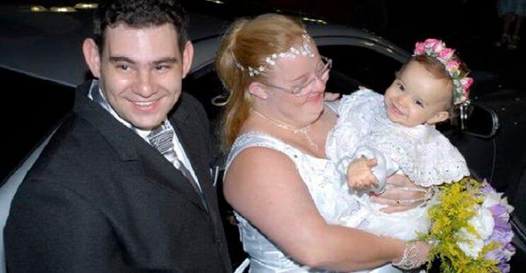 Contra todo pronóstico esta pareja con discapacidad tiene una saludable bebé 5