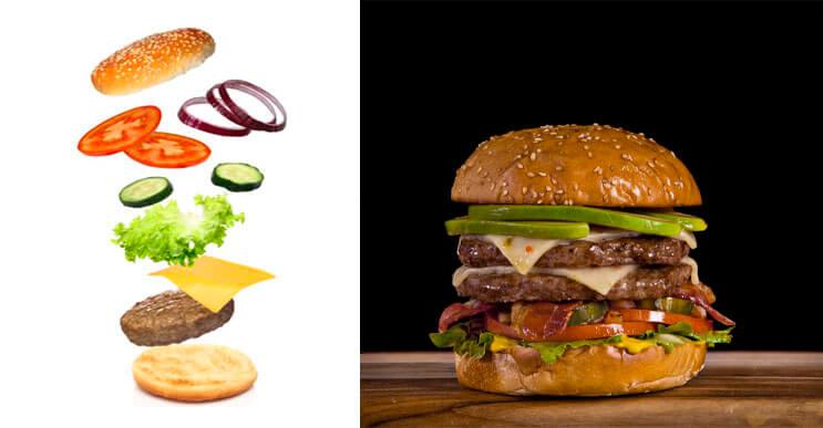 Descubre cómo se hacen las escenas de caídas de hamburguesas con este vídeo