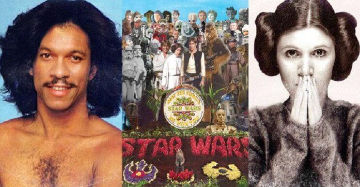 """Artista convierte discos de culto en un homenaje a """"Star Wars"""""""