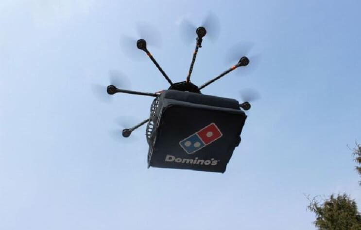 Domino's utilizará drones para repartir pizzas 2