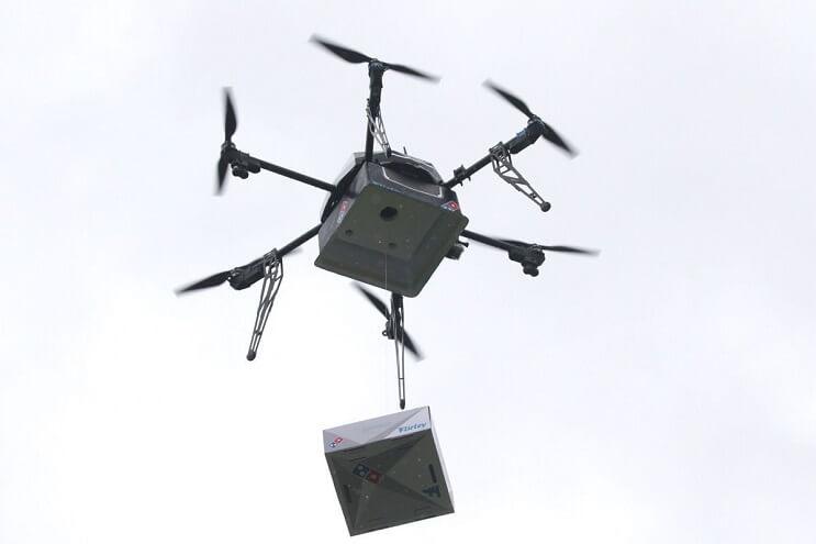 Domino's utilizará drones para repartir pizzas 4