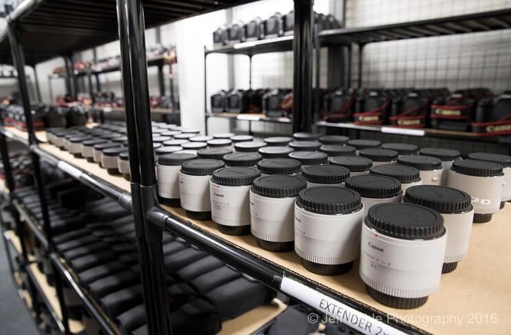 El asombroso arsenal de cámaras que Canon usará para Río 2016 003