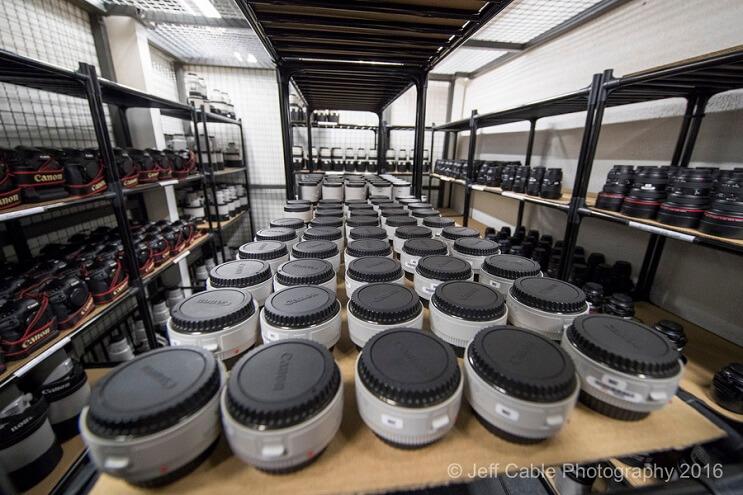 El asombroso arsenal de cámaras que Canon usará para Río 2016 007