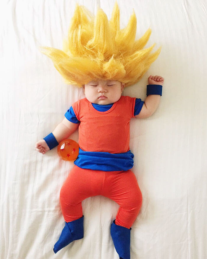 Esta bebé se ha convertido en toda una modelo de Instagram entre siesta y siesta goku