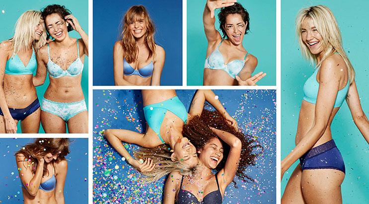 Esta campaña de ropa íntima propone decirle adiós al Photoshop  3