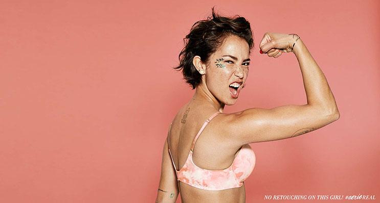 Esta campaña de ropa íntima propone decirle adiós al Photoshop  6