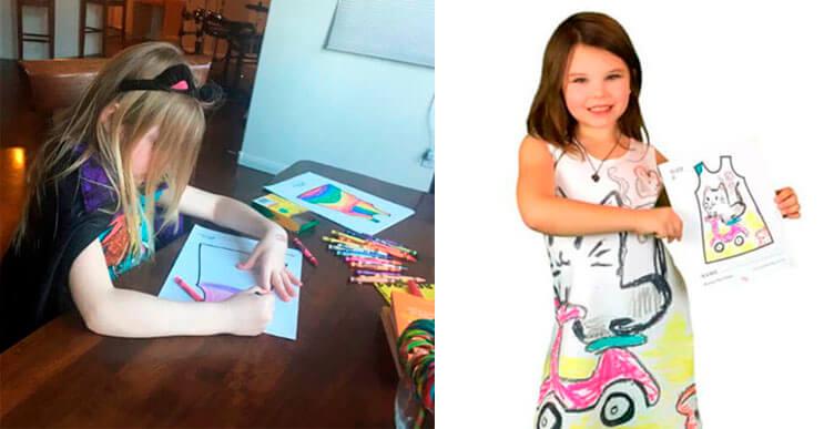 Esta marca deja a los niños diseñar su propia ropa
