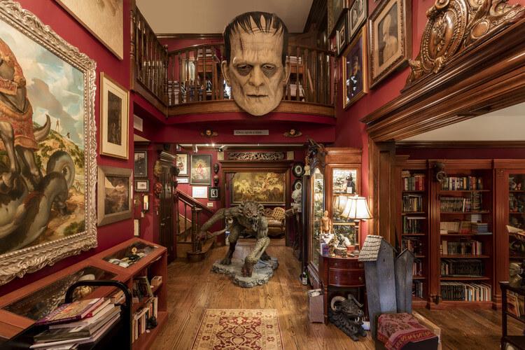 Este museo rinde honor a Guillermo del Toro y luce terroríficamente espectacular 002