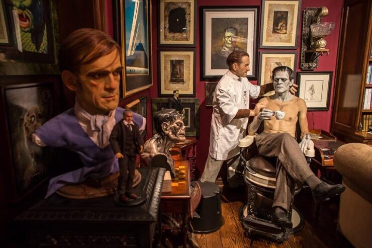 Este museo rinde honor a Guillermo del Toro y luce terroríficamente espectacular 012