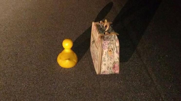 Este pato de hule que fue robado hace 5 años y ha regresado luego de un misterioso viaje 12