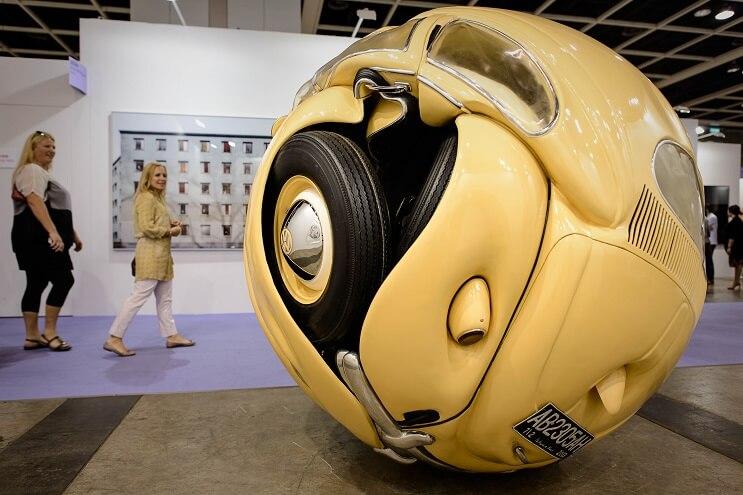 Este proyecto puso aun más redondos a los famosos escarabajos de Volkswagen 1