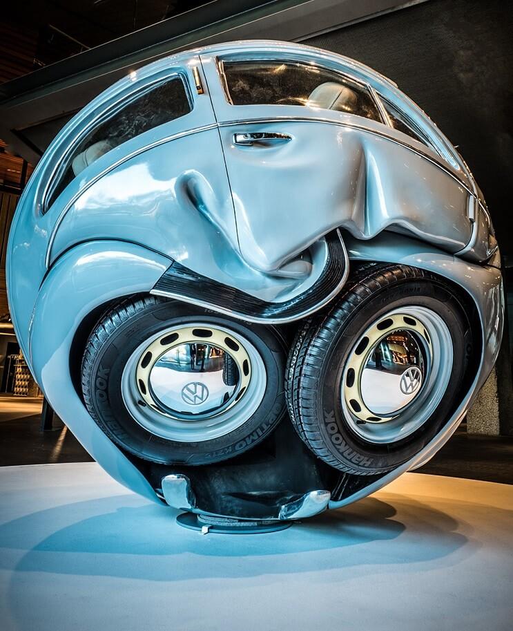 Este proyecto puso aun más redondos a los famosos escarabajos de Volkswagen 2