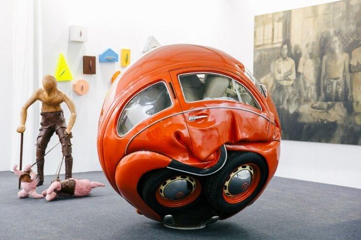 Este proyecto puso aun más redondos a los famosos escarabajos de Volkswagen 4