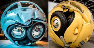 """Este proyecto puso aun más redondos a los famosos """"escarabajos"""" de Volkswagen"""
