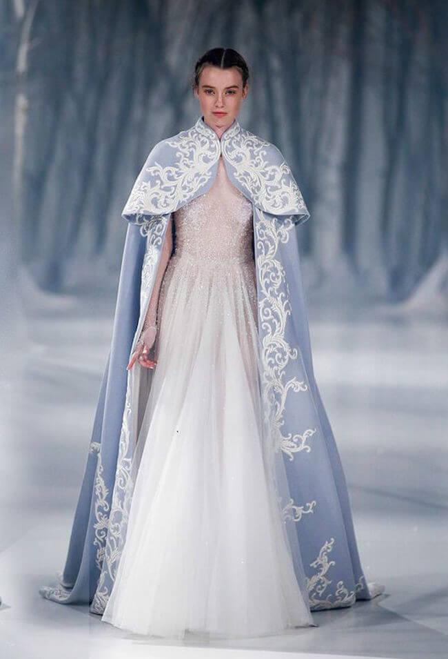 Estos vestidos y estilo harán que desees casarte a lo Game of Thrones 1