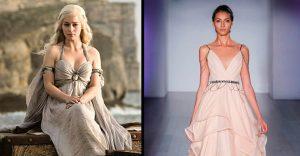 Estos vestidos y estilo harán que desees casarte a lo Game of Thrones