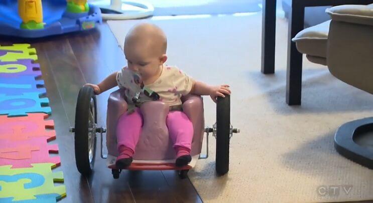 Evelyn Moore silla de ruedas