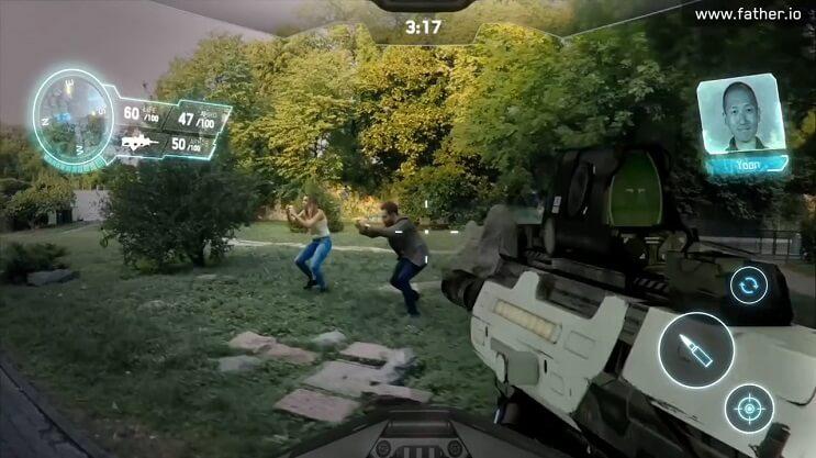 Father.io un juego de realidad aumentada que lleva todo al próximo nivel 04
