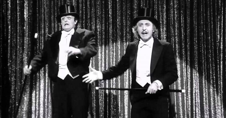 Gene Wilder, quien personificó al famoso Willy Wonka, falleció a los 83 años young frankenstein