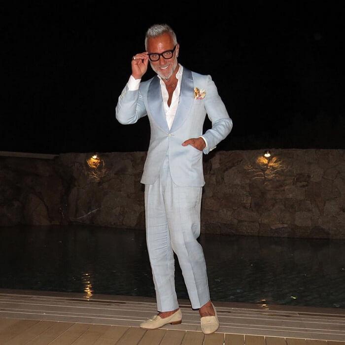 Gianluca tiene un gran estilo