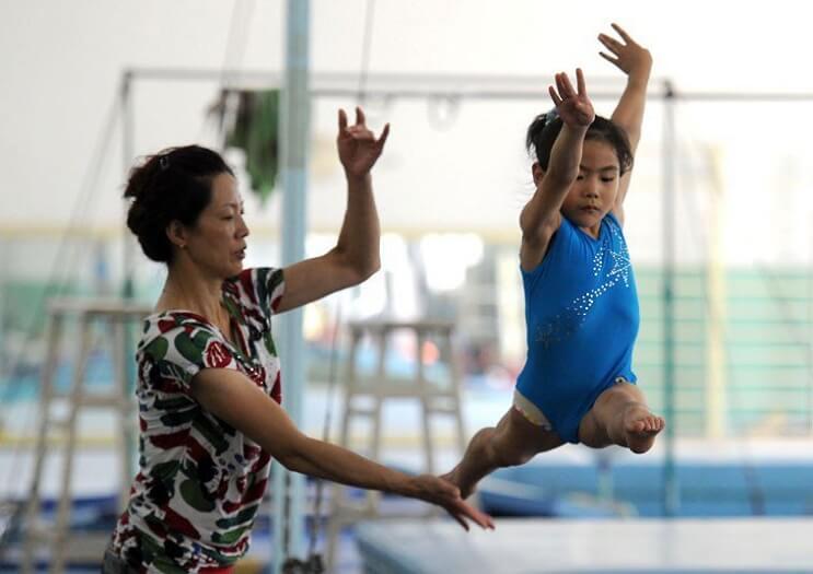 Gimnasia niños China 1