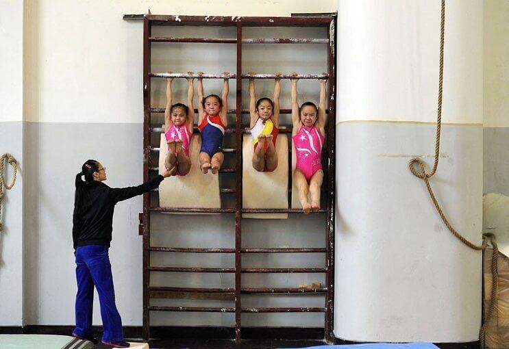 Gimnasia niños China 2