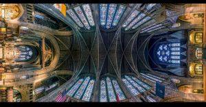 Increíbles fotos panorámicas de iglesias que harán tu cabeza girar